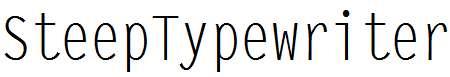 SteepTypewriter