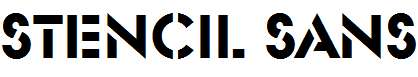 Stencil-Sans