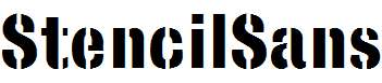 StencilSans-Bold