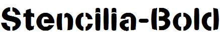Stencilia-Bold