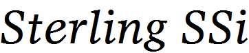 Sterling-SSi-Italic