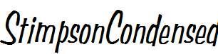 StimpsonCondensed-Oblique