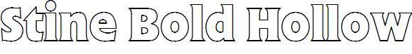 Stine-Bold-Hollow