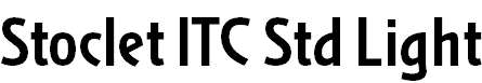 Stoclet ITC Std Bold