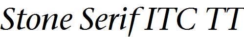 Stone-Serif-ITC-TT-MediumItalic