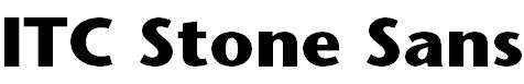 StoneSans-Bold