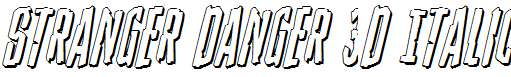 Stranger-Danger-3D-Italic
