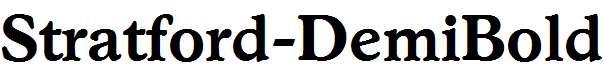 Stratford-DemiBold