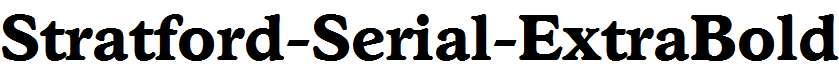 Stratford-Serial-ExtraBold-Regular