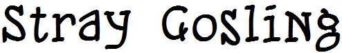 Stray-Gosling