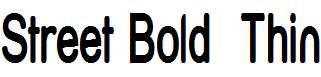 Street-Bold-Thin
