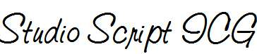 Studio-Script-ICG