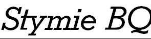 StymieBQ-Italic