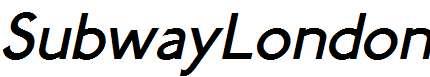 SubwayLondon-Italic