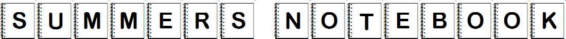 Summers-Notebook