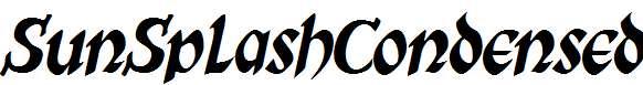SunSplashCondensed-Italic