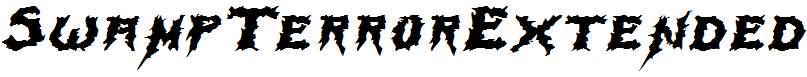 SwampTerrorExtended-Italic