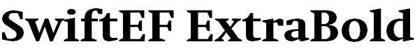 SwiftEF-ExtraBold