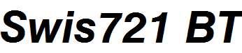 Swis721-BT-Bold-Italic