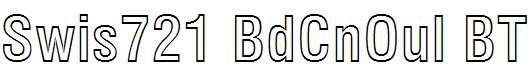 Swis721-BdCnOul-BT-Bold-Outline