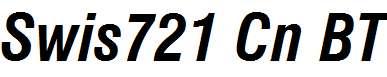 Swiss-721-Bold-Condensed-Italic-BT