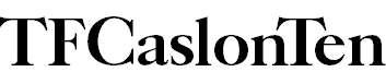 TFCaslonTen-Bold