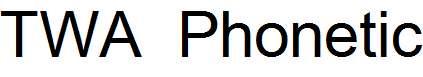 TWA-Phonetic