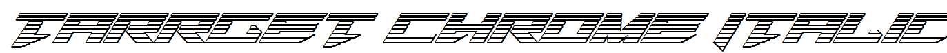 Tarrget-Chrome-Italic