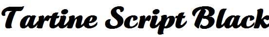 Tartine-Script-Black