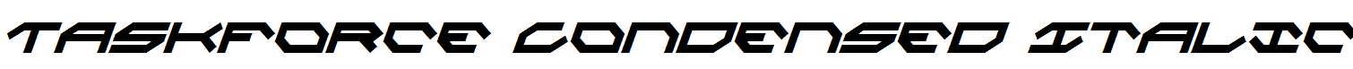 Taskforce-Condensed-Italic