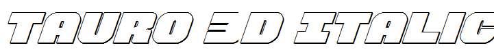 Tauro-3D-Italic