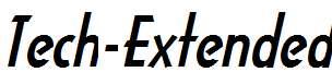 Tech-Extended-Bold-Italic