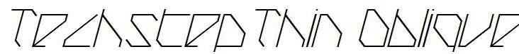 TechstepThin-Oblique