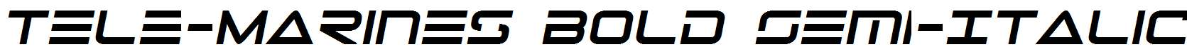 Tele-Marines-Bold-Semi-Italic