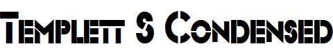Templett-S-Condensed-Bold