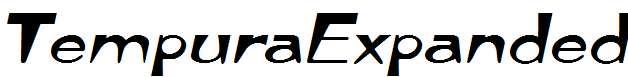 TempuraExpanded-Italic