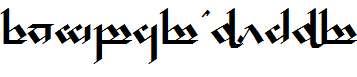 Tengwar-Noldor