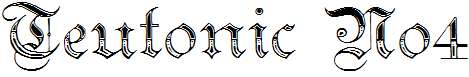 Teutonic-No4-DemiBold
