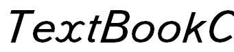 TextBookC-Italic