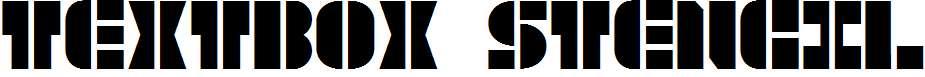 TextBox-Stencil