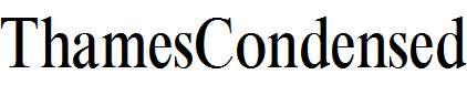 ThamesCondensed-Regular