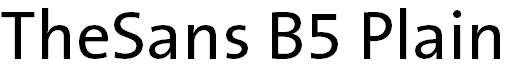 TheSans-B5Plain