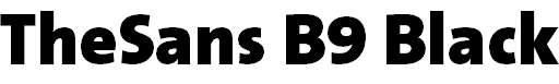 TheSans-B9Black