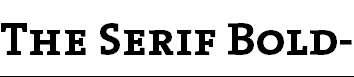 TheSerifBold-Caps