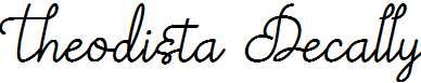 Theodista-Decally-Italic
