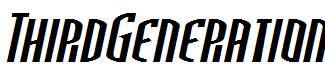 ThirdGeneration-Italic