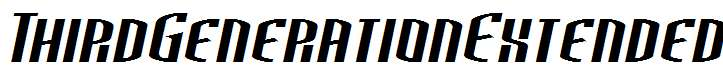 ThirdGenerationExtended-Italic
