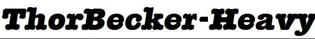 ThorBecker-Heavy-Italic