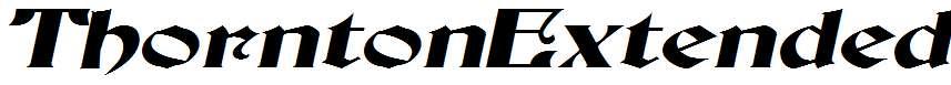 ThorntonExtended-Italic