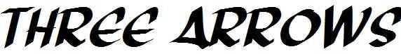 Three-Arrows-Italic
